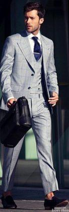 Модный гид по мужским костюмам