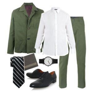Модный оттенок для мужского костюма