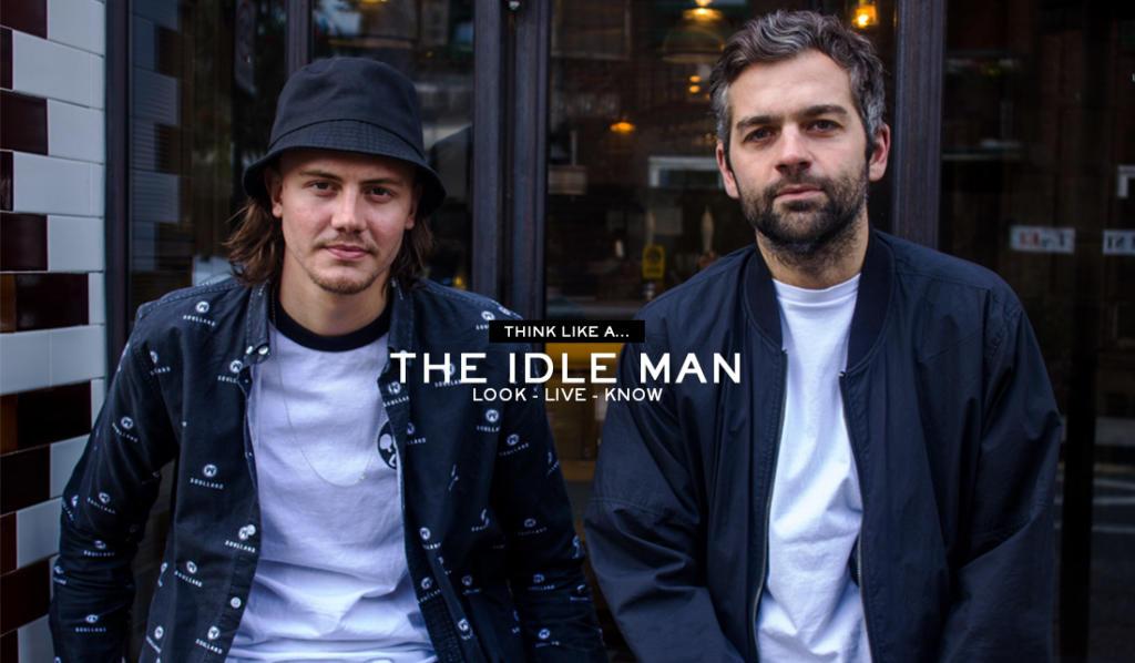 мужской магазин THE IDLE MAN