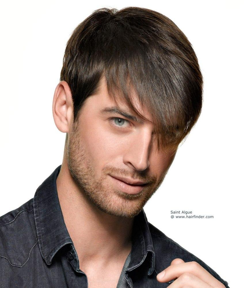прически для густых и жестких волос мужские