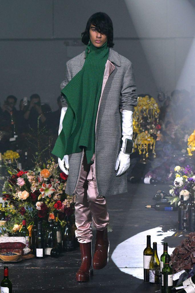 Модные мужские шарфы