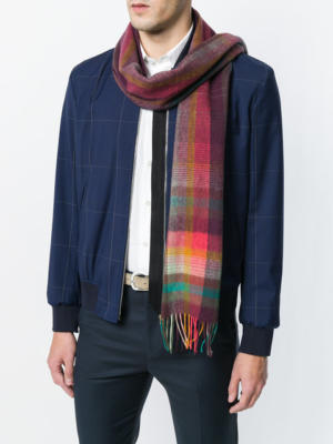 шарф из ангоры