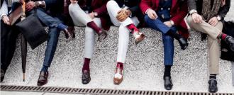 почему красные носки главный тренд этого сезона?