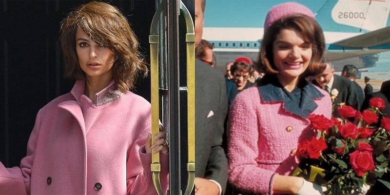 Эмили Ратаковски в образе Жаклин Кеннеди