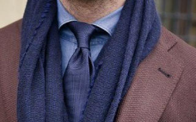 Мужской шарф. Коллекция 2018