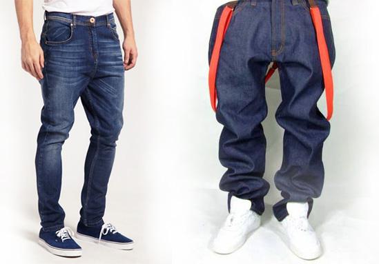 фасон брюк