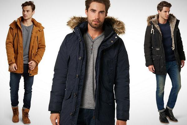 Зимние и осенние мужские куртки парки 2018