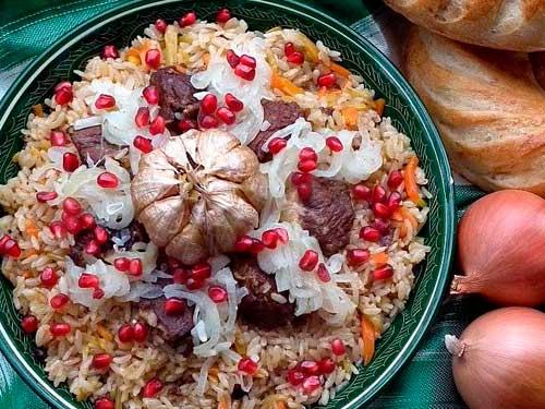 блюдо восточной кухни