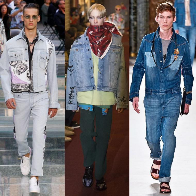 джинсовые мужские куртки