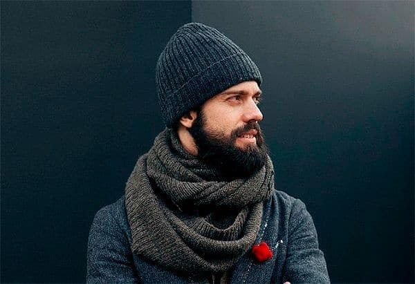 мужские шапки осень-зима