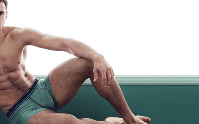 Размеры мужского нижнего белья