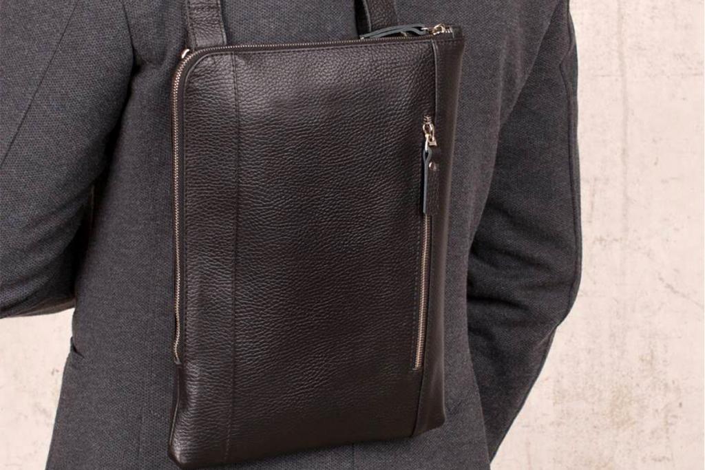 хороший кожаный рюкзак