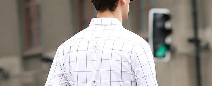 ca030c4803e4aa8 Как правильно носить приталенную мужскую рубашку с длинным и коротким  рукавом