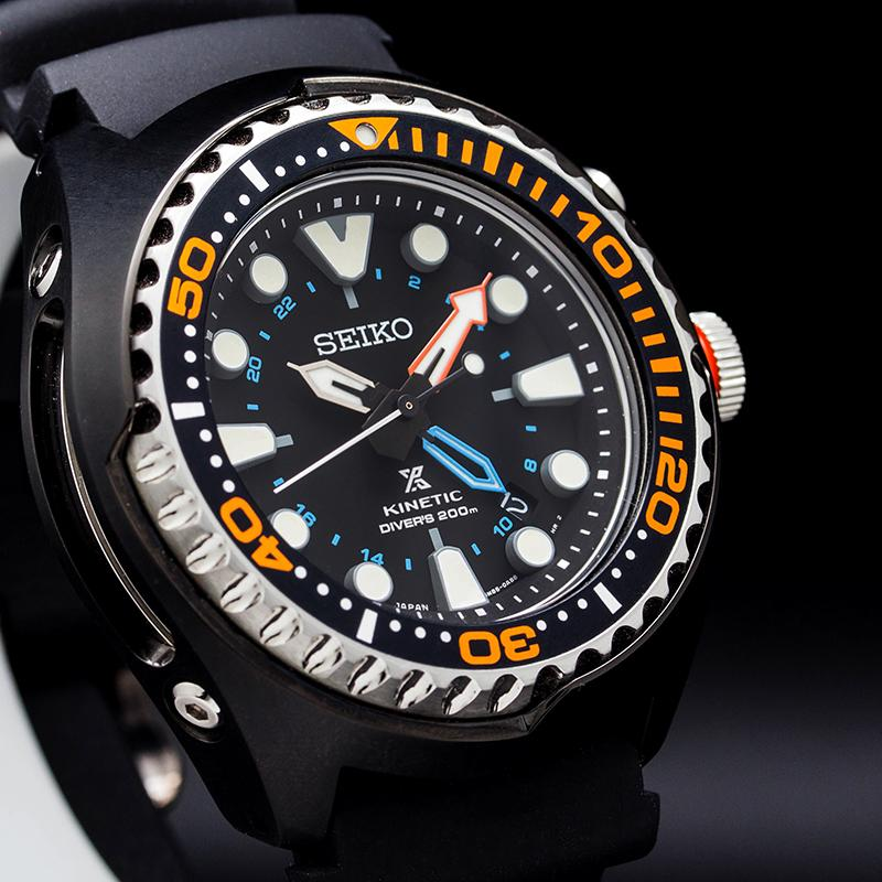 SeikoProspex часы