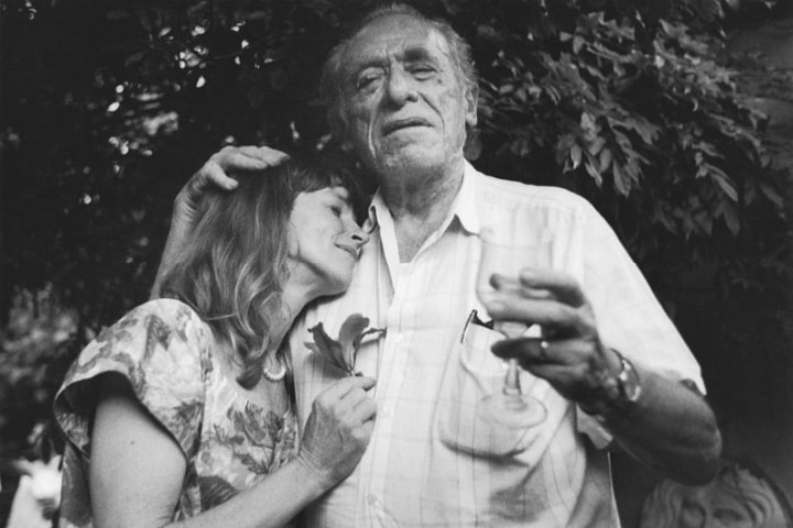 Линда и Чарльз Буковски