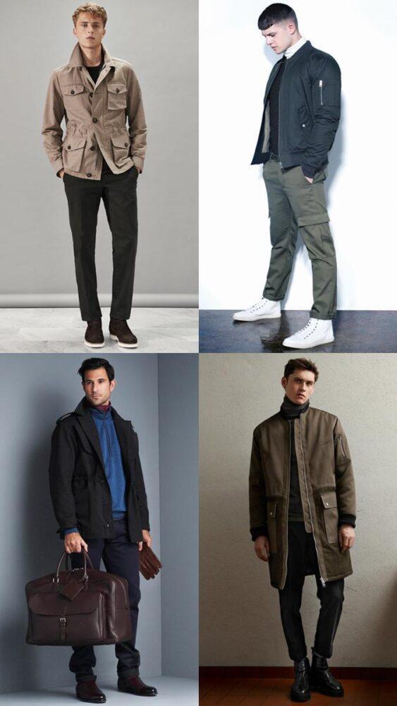 Утилитарная мужская одежда