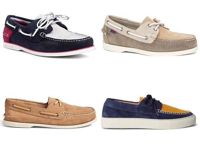 Лодочки-ботинки
