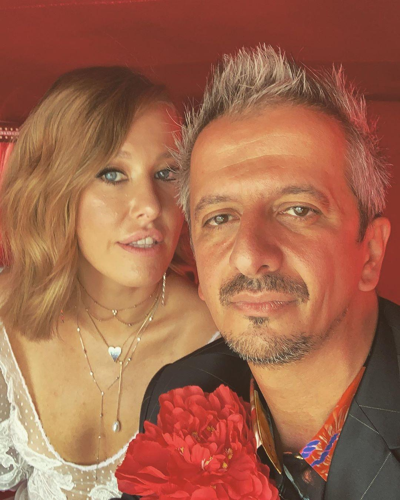 Супруги Ксения Собчак и Константин Богомолов