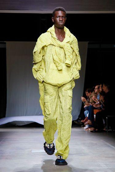 Milan fashion week 2019, Angel Chen