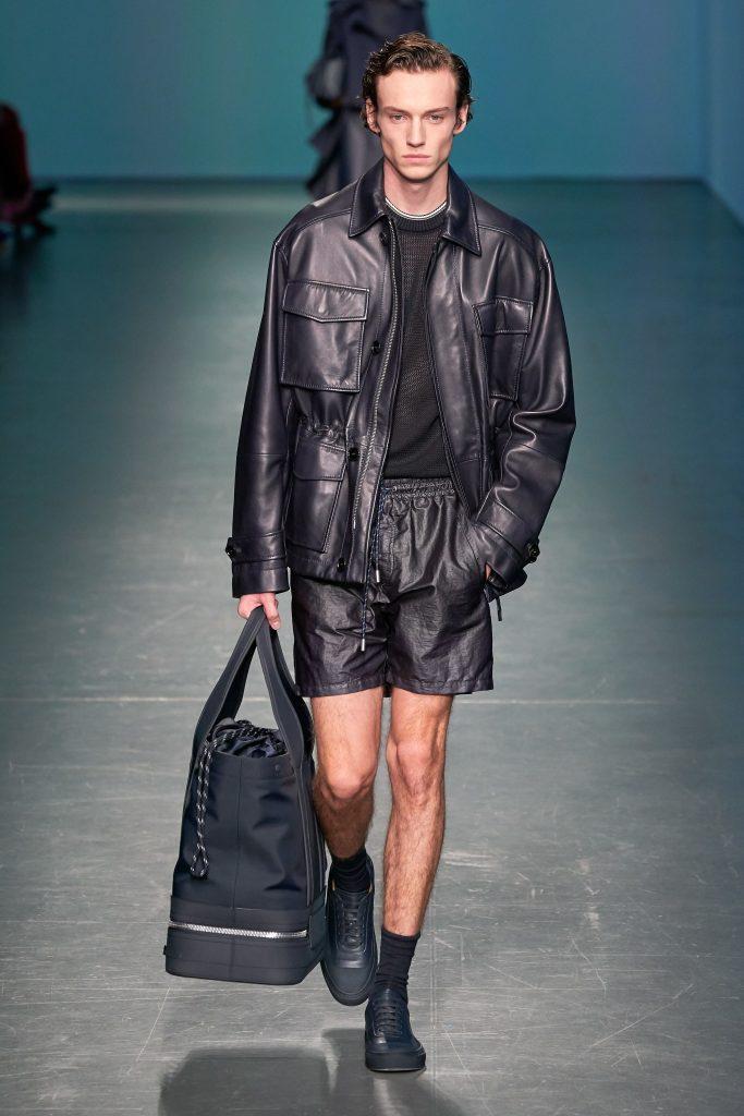 Hugo Boss, Bag, Milan fashion week 2019