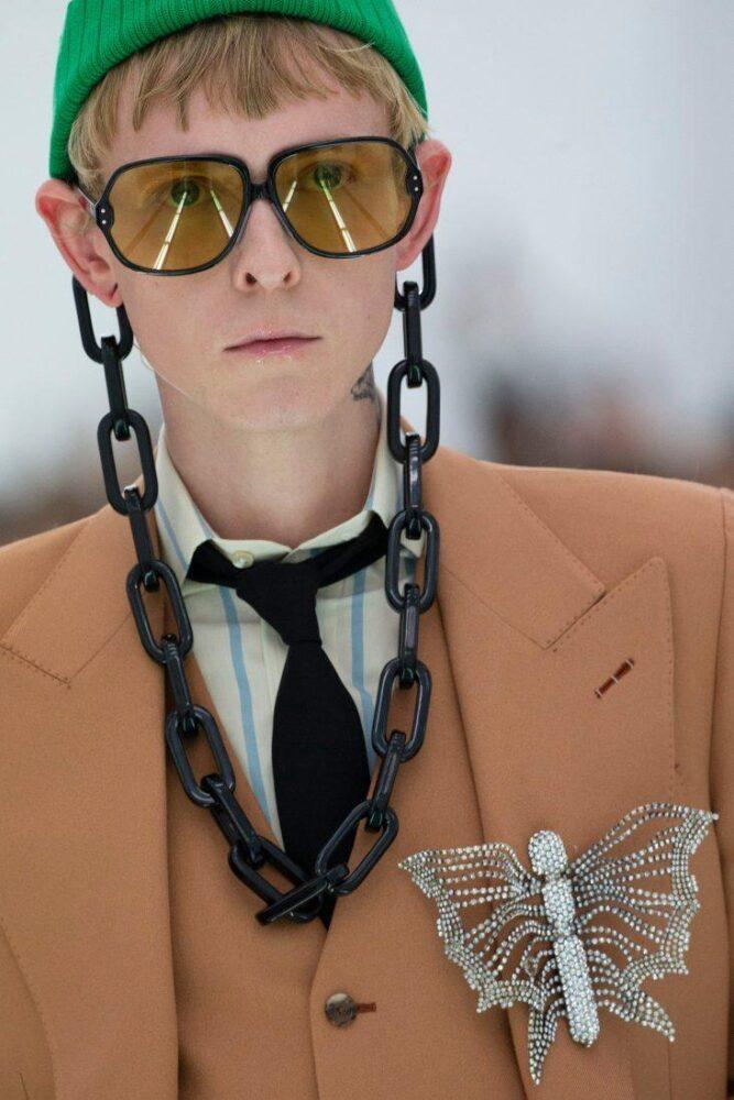 Аксессуары от Gucci, Milan fashion week 2019