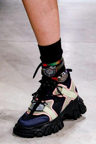 Angel Chen, shoes, Milan fashion week 2019