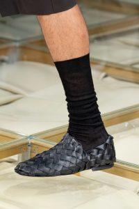 Плетеные туфли, неделя моды в Милане 2019, Bottega Veneta