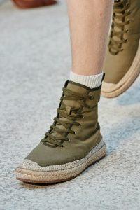 Обувь из текстиля, Salvatore Feragamo, Миланская неделя моды 2019