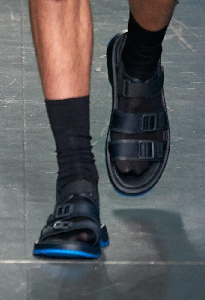 Hugo Boss, мужская обувь, Неделя моды в Милане 2019