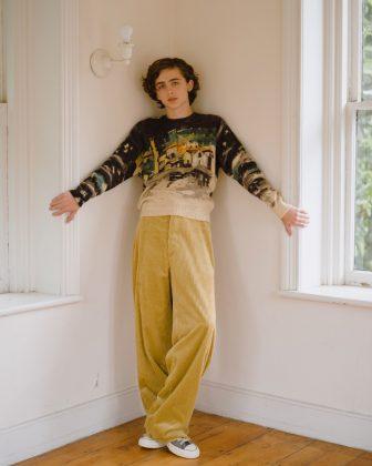 Тимоти Шаламе, Vogue