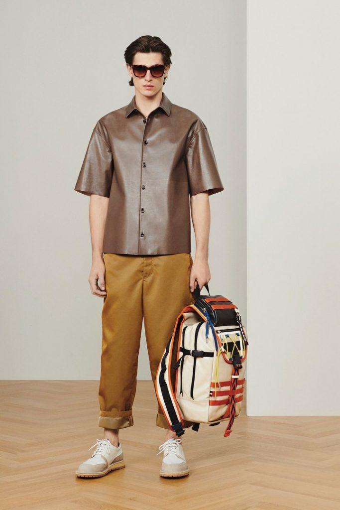 мужская мода Bally весна-лето 2020