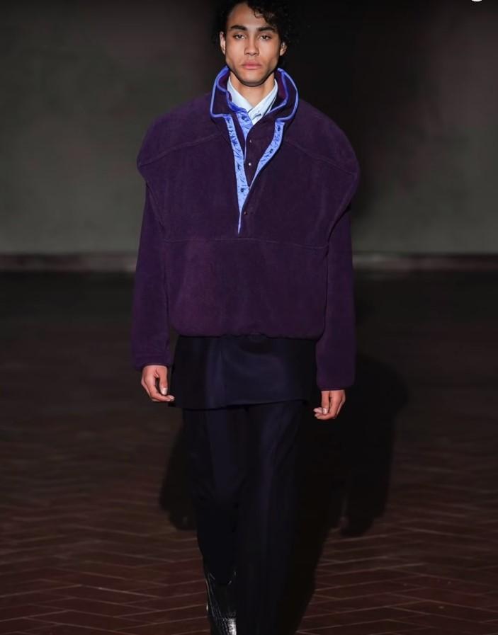 Насыщенный фиолетовый будет популярен весной