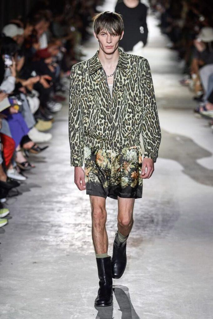 мода для мужчин Dries Van Noten весна-лето 2020