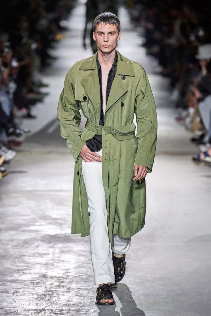 мужская мода Dries Van Noten весна-лето 2020