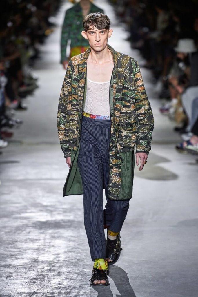мужская коллекция Dries Van Noten весна-лето 2020