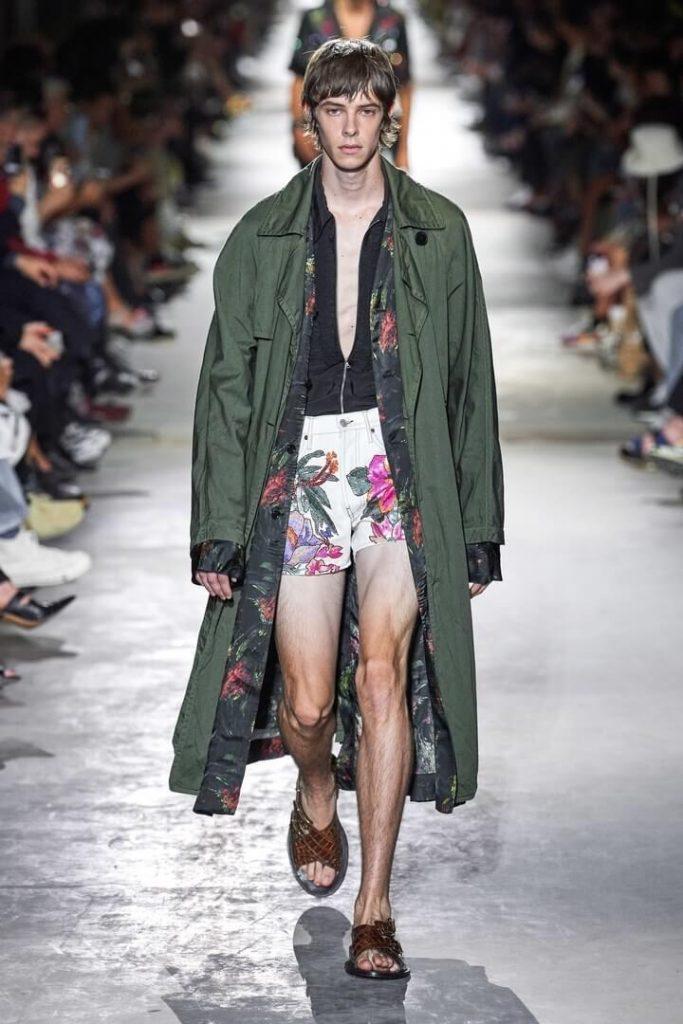 коллекция Dries Van Noten весна-лето 2020
