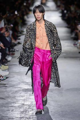 мужская мода Dries Van Noten P/E 2020