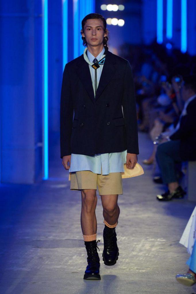 мужская мода прада