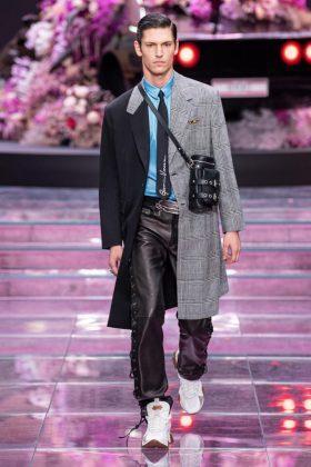 модный мужской стиль версаче