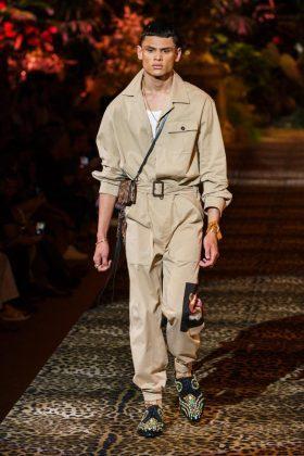 модный мужской показ дольче габана