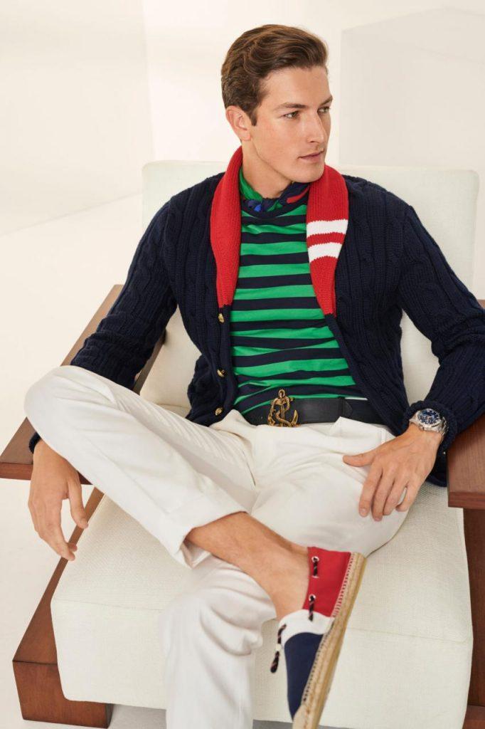 мода для мужчин Ralph Lauren