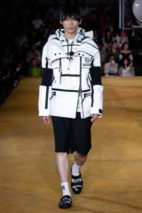 мужская мода Burberry