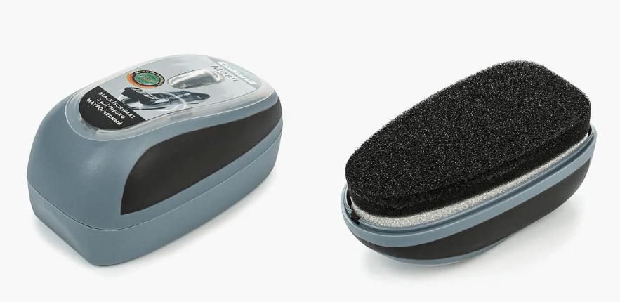 губка для ухода за обувью