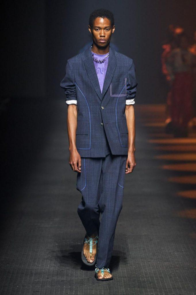 мужской модный стиль кензо