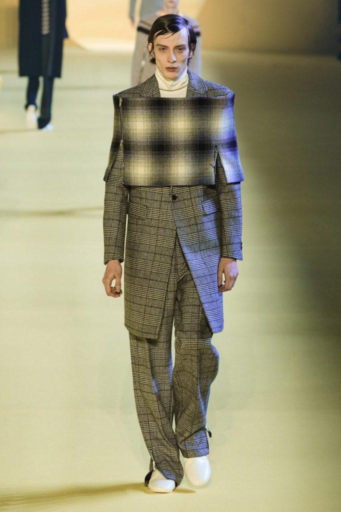 модная мужская коллекция раф саймон