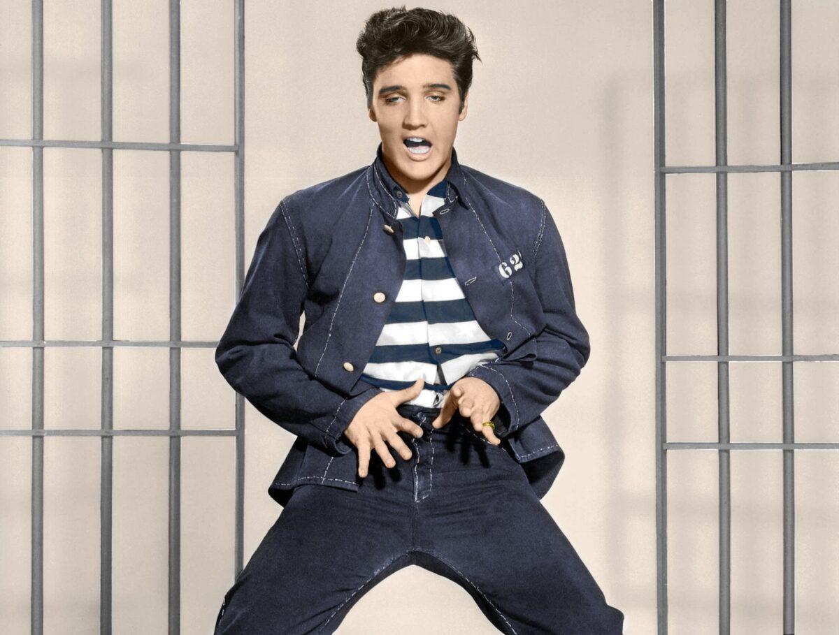 Элвис Пресли, джинсовая куртка