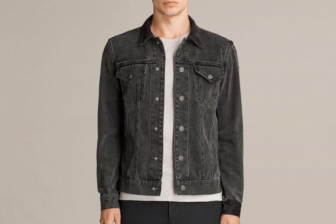 Джинсовая куртка AllSaints