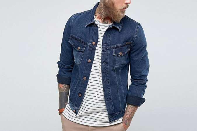 Джинсовая куртка Nudie Jeans