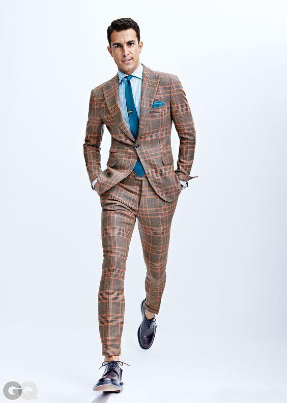 костюм разноцветный