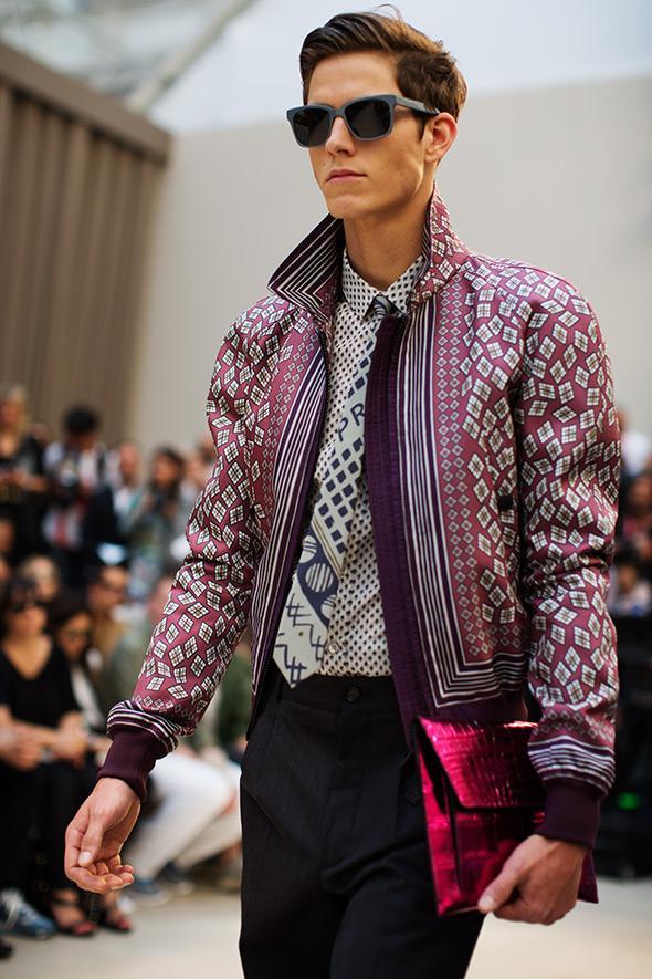куртка разноцветная